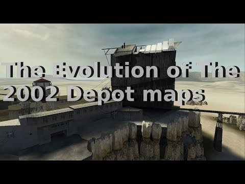 Half-Life 2 Beta: The Evolution of The 2002 Depot Maps.