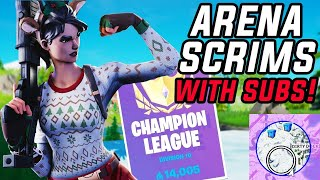 Custom Arena Scrims With Subscribers!! Zone Rule Custom Games! Come and Join in!! !discord