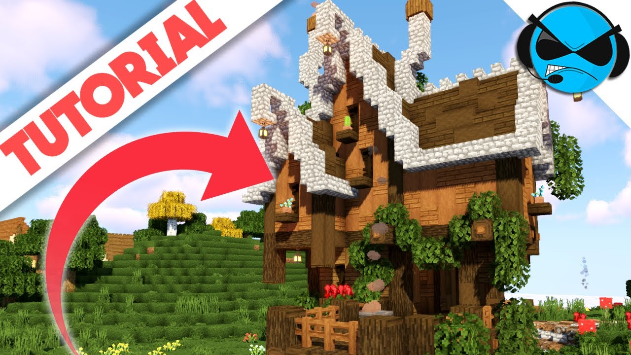 Minecraft How To Build A Witch House  Minecraft 12.124 Tutorial House