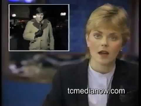WCCO-TV Alan Cox Reports from 1982 Thanksgiving Fire downtown Minneapolis
