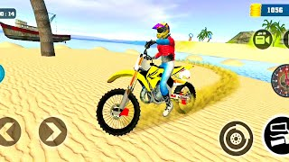 Motocross 3D Dirt Beach Bike Stunt Racing Game | Bike Games | Dirt Motorbike Ride