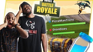 TRAVAIL SUR DUOS CHEMISTRY AVEC ANNOYING LITTLE BROTHER! - Fortnite Bataille Royale Ep.42