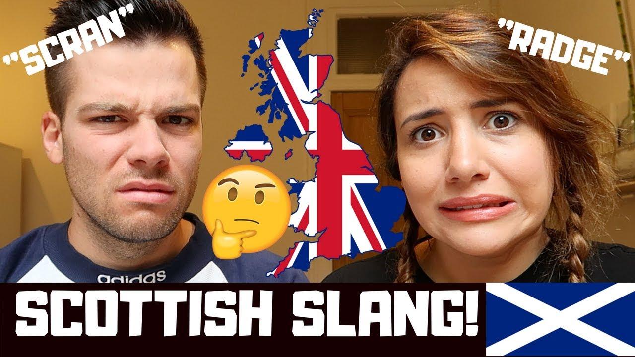 🇬🇧English Mates Guess Scottish Slang! 🇬🇧