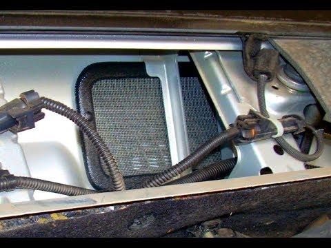 Lada Vesta. Сетка на воздухозаборник отопителя