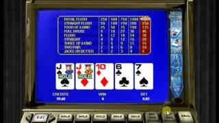видео Игровой автомат Jacks Or Better