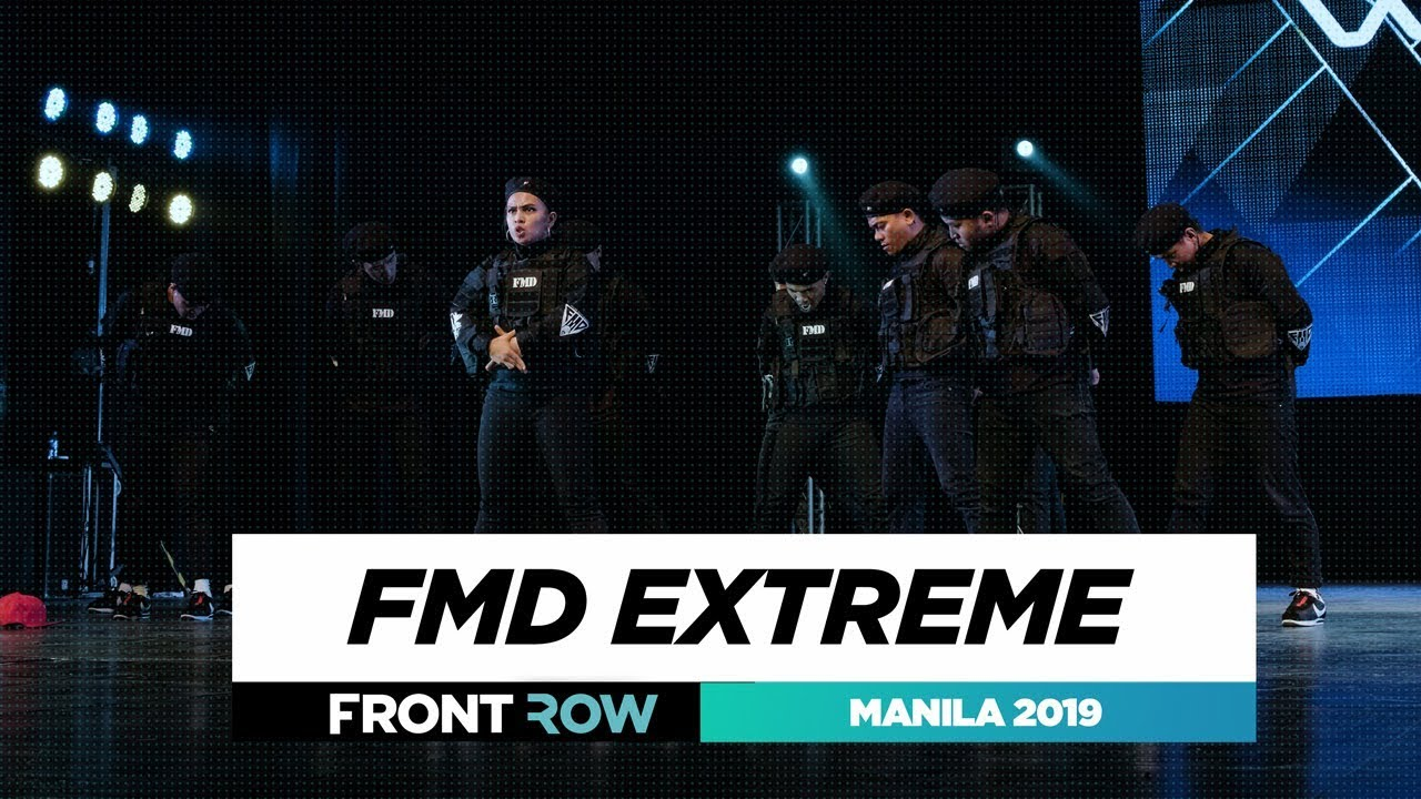 FMD Extreme | FRONTROW | World of Dance Manila Qualifier 2019 | #WODMNL19