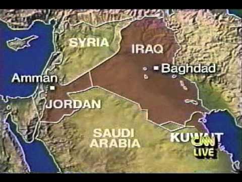 kuwait war 1 hour from start - cnn vhs