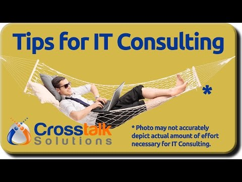 Tips for IT Consulting