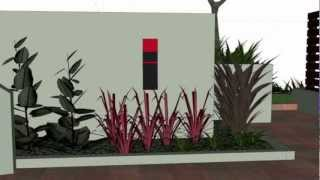Landscape Design Nz. Concept Plan Auckland New Zealand, Nz.