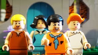 LEGO The Flintstones set unboxing / build / review