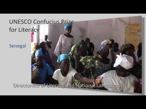 2016 UNESCO Confucius Prize for Literacy: laureate from Senegal