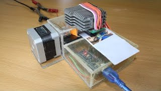 how to make mini dot printer using arduino at home