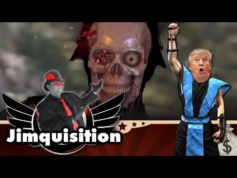 Violence In Videogames, Wankers In The White House (The Jimquisition)