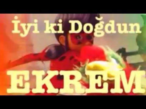 İyi ki Doğdun EKREM :)  Komik Doğum günü Mesajı 1. VERSİYON ,DOĞUMGÜNÜ VİDEOSU Made in Turkey :) 🎂