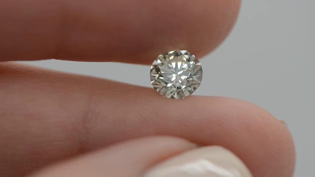 My Diamonds 8r110k215 Round Brilliant 1 14 Carat J