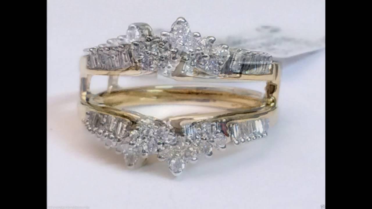 Yellow Gold And Diamond Ring Wraps