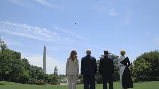 Historic F-35 White House Flyover