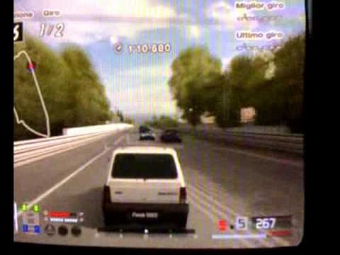 gran turismo 4 fiat panda a 330 km h youtube. Black Bedroom Furniture Sets. Home Design Ideas