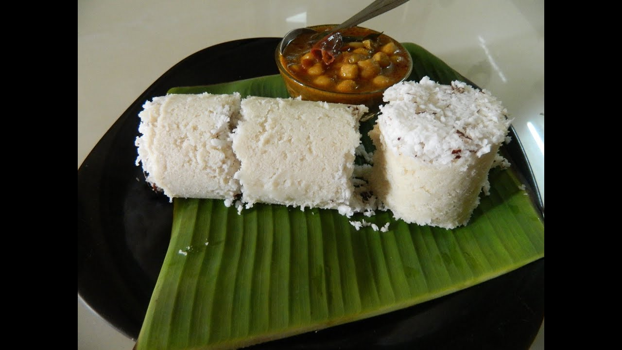 Image result for PUTTU AND KADALA CURRY:.