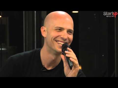 Derek Andersen (Startup Grind) at Startup Grind Hong Kong