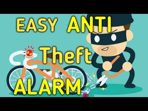 How to make Anti Theft Alarm for any Vehicle   How to make locker security alarm