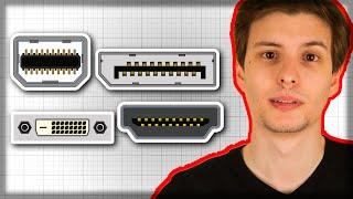 Video Display Interfaces Compared (HDMI, Displayport, DVI, Thunderbolt) download MP3, 3GP, MP4, WEBM, AVI, FLV Juni 2018