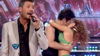 La fogosa salsa de Fernando Carrillo junto a Mariana Brey y Camila Mendes