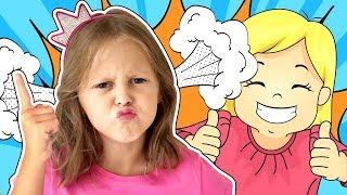 Амелька не хочет дружить с Звездочкой! К нам в гости пришла Соседская Девочка! Видео для детей