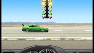 Переключение Nissan Skyline R34 GT-R V-Spec Nos