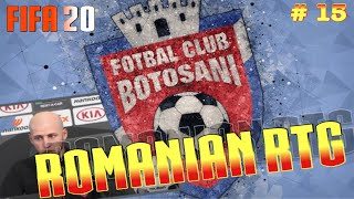 FIFA 20 FC Botosani - Romainian RTG : Ep 15 - Romainian National Team Fuck Yeah & UCL