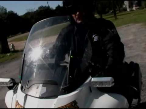 Mike Hanson Confronts  Motorcycle Cops & County About Revenue Generation Trap