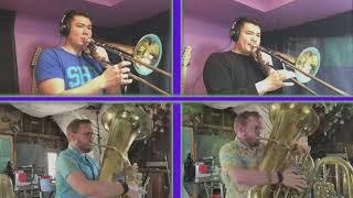 Mr. Sandman for trombone and tuba quartet (arr. Brett Copeland)