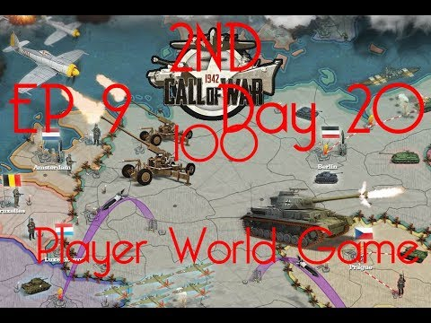 Call of War 1942 2ND 100 Player Fan Game, Day 20 EP9