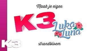 Maak je eigen K3 Luka Luna strandbloem