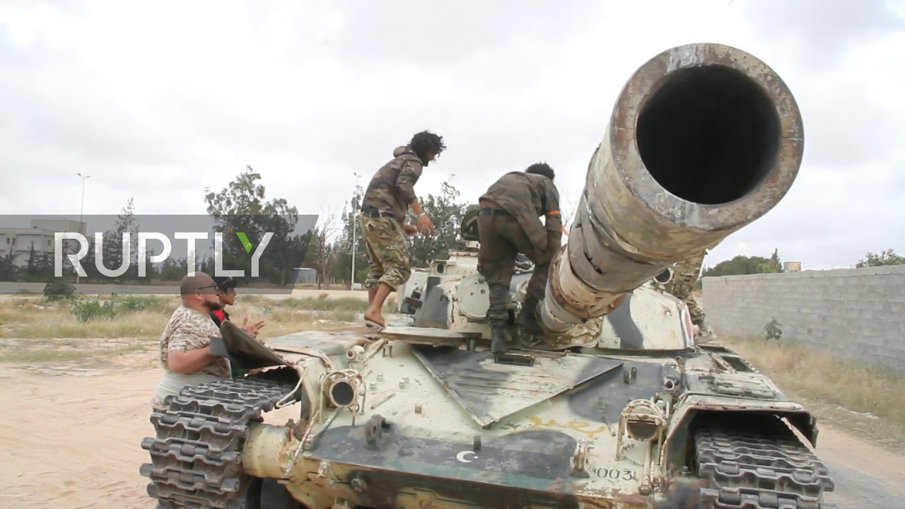 Libya: Clashes erupt between LNA and GNA on Tripoli airport road