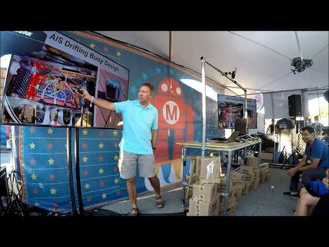 Arduino Drifting Buoy Maker Faire NYC 2017 Presentation