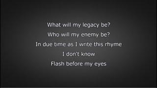 Logic - Legacy (Lyrics)