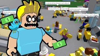 Roblox / Retail Tycoon Part 2 / It's so busy! / Gamer Chad Plays
