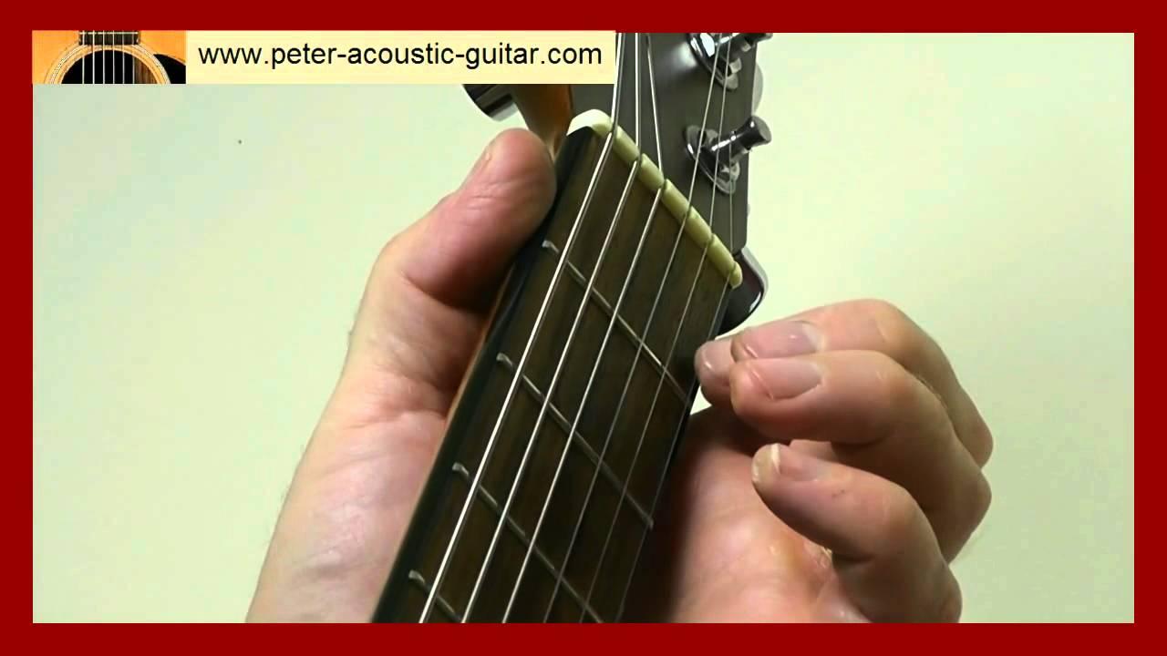 Guitar Lesson Black Velvet Band Easy Version Youtube