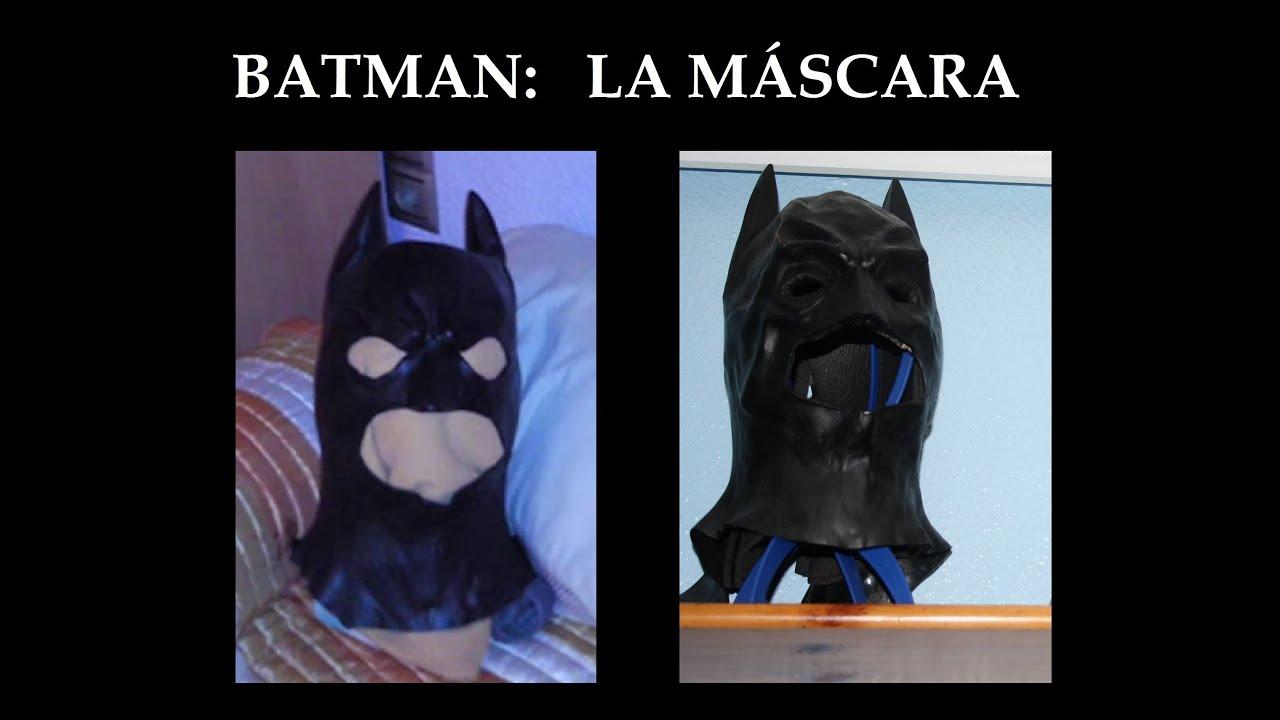 Batman Tutorial pt (2/6) \'Máscara protectora\' [PROTECTOR Cowl] - YouTube