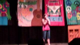 ACC Choir Camp 2011-Talent Show-Hannah Hines singing I Can Hear the Bells