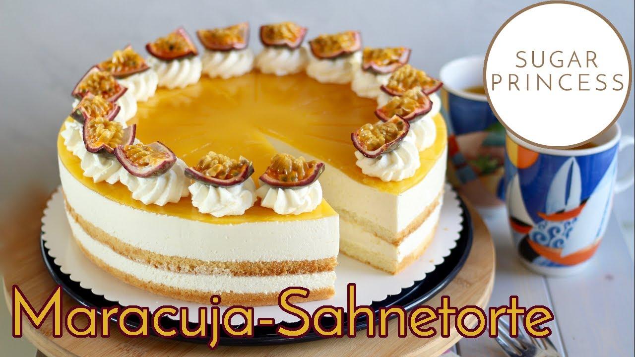 Fruchtige Maracuja-Käse-Sahnetorte/ Solero-Torte  - cremiger Tortentraum | Rezept von Sugarprincess