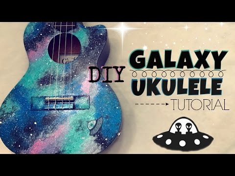 DIY Galaxy Ukulele Tutorial  (Kelaska)