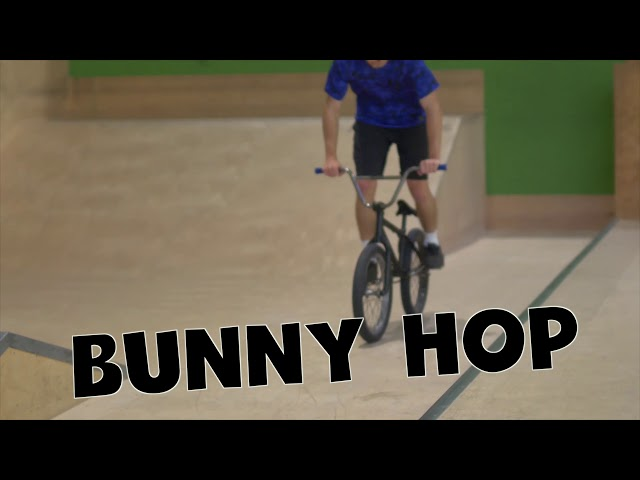 BMX Tutorial - Bunny Hop // Freestyle Academy Stuttgart