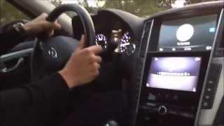 Покупка автомобиля в США.  Тест-драйв Infiniti Q50