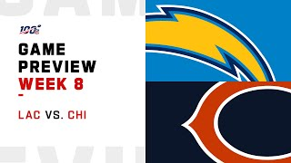 Los Angeles Chargers vs Chicago Bears Week 8 NFL Game Preview
