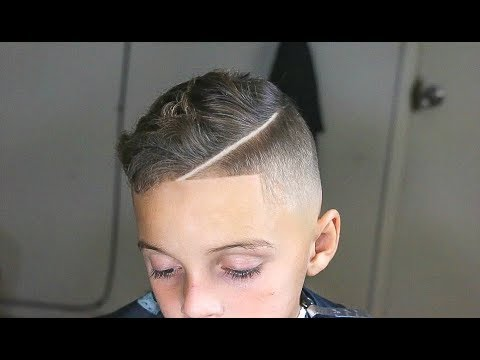 Dummy Proof Kids Combover Haircut Hd Youtube