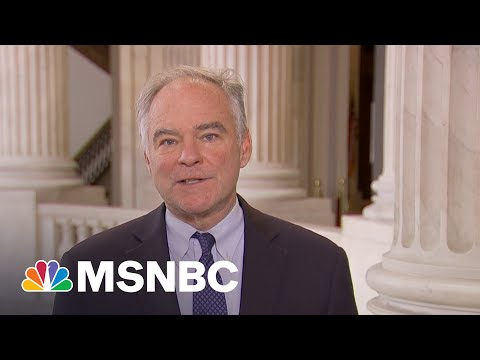 Kaine: Bipartisan Infrastructure Bill 'Is A Big Deal'