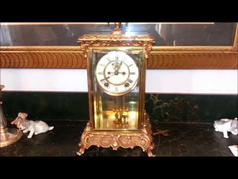 Ansonia Crystal Regulator ~ A Victorian Luxury