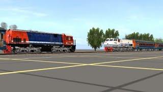 Download Video Tabrakan Kereta Api Bintaro 1987-Ilustrasi Trainz Simulator MP3 3GP MP4